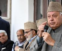 Centre repeating mistake of looking at Kashmir issue through security prism: Farooq Abdullah