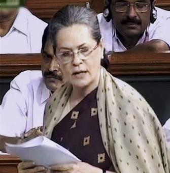 Give us our due: Sonia seeks early passage of Women's Bill
