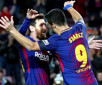 PHOTOS: Barca extend La Liga lead; Hertha stun Leipzig