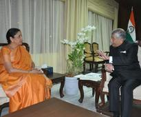 Arunachal Governor briefs Sitharaman, Army Chief on security along borders