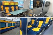 Indian Railways new luxury chair cars better than Shatabdi Express; but wow factor missing