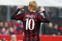 Keisuke Honda scores as AC Milan beat Genoa 2-1 in Serie A