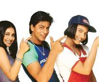 Karan Johar and Shah Rukh Khan celebrate 18 years of Kuch Kuch Hota Hai