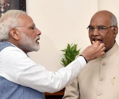 'Lead India to the path of prosperity': Wishes pour in for Kovind