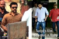 Suriya's film to be shot in Vizag