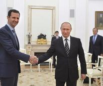 Assad: Putin 'never said a single word regarding' a political transition in Syria