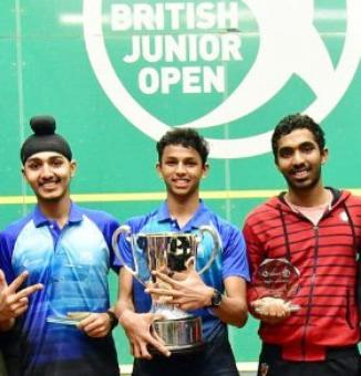 Indian sweep medals at U-19 British Junior Open squash