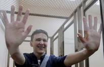 Ukrainian Military Pilot Savchenko 'Flying Home'