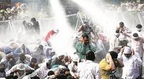 Panchkula: Agitating JBT teachers hold rally, lathicharged, some suffer injuries