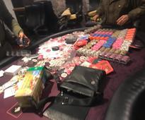 Sikkim Police crackdown illegal Casino den in Gangtok