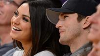 Ashton Kutcher, Mila Kunis seen in public after birth of second child