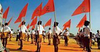 Doubletalk:  RSS hoist Bhagwa flag on Nagpur headquarter, wants Tiranga on Madrassas