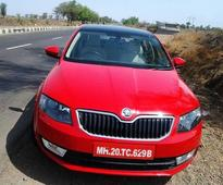 Skoda caught testing the new Octavia 2013 in India