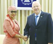 Five new ambassadors present credentials to Rivlin