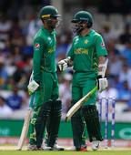 Pakistan lose Babar in the final overs