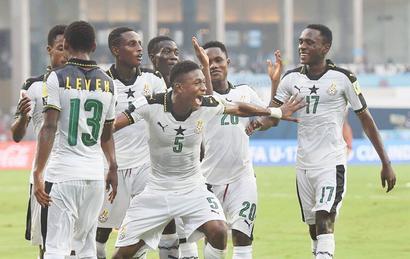 Under-17 WC: Ghana down debutants Niger 2-0, face Mali in quarters