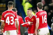 Manchester United's bright display topped off by Lingard