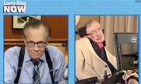 People, Ever More Greedy And Stupid, Destroy The World  Stephen Hawking To Larry King
