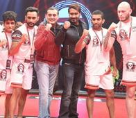 Photos: Ajay Devgn Looking Dapper at the Launch of the Super Fight League