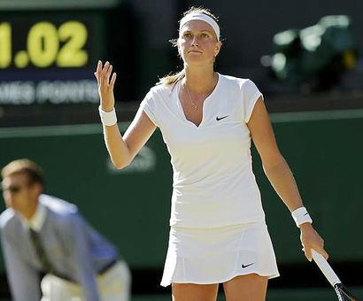 Kvitova faces around 6 months away from competition