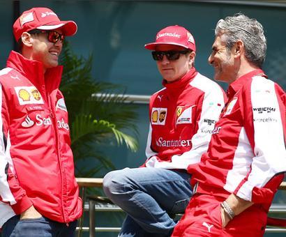 'Positive' Vettel staying at Ferrari