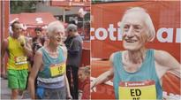 WATCH: This inspiring 85-year-old runs a marathon and shatters world record in Toronto