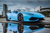 Lamborghini Huracan LP 610-4 Spyder launched at Rs. 3.89 crore in India