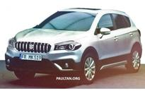 Maruti S-Cross Facelift Pictures Spied