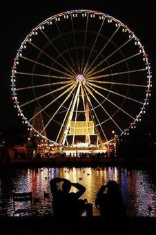 1 dead, 9 injured as giant wheel collapses at Chennai amusement park