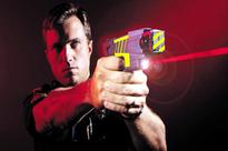 What is a Taser that the senior UP cop used on self? Here's how harmful it is