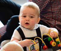 PICS: The most adorable snaps of Prince George over the years
