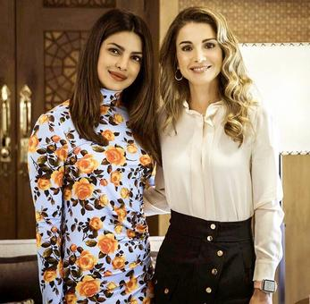 Picture perfect: Priyanka meets Queen Rania