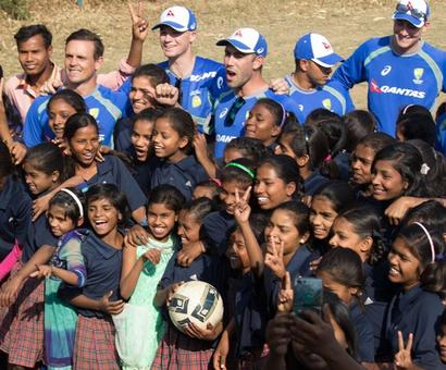How these girls in Jharkhand inspired Aussie cricketers