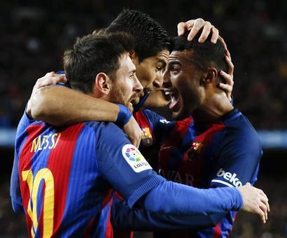 PHOTOS: Messi fires Barca to victory, Southampton stun Liverpool