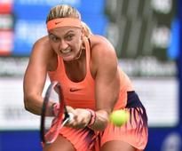 Kvitova safely through as retirements hit Wuhan