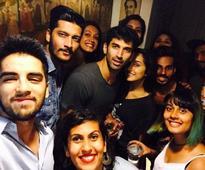 Clicked: Shraddha-Aditya Party Hard on the Sets of OK Jaanu!