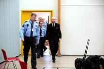 Norwegians shun Breivik hearing; killer's only visitor is paid