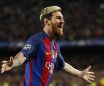 Three-goal Messi brings the magic