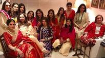 Look who all we spotted at Sunita Kapoor's Karva Chauth party!