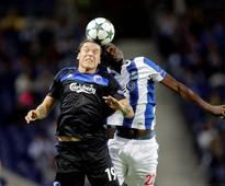 Copenhagen hold Porto to 1-1 draw