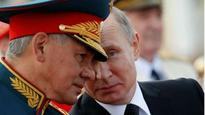 Backed by Vladimir Putin, Russian military pushes into foreign policy