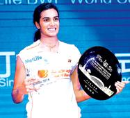 PV Sindhu: People thought I would take a while before I perform