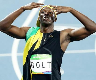 Two more medals to go and I can sign off as immortal: Bolt