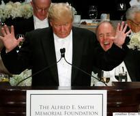Donald Trump Booed At Alfred E. Smith Memorial Foundation Dinner