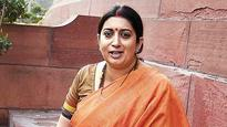 Smriti Irani MPLADS misuse: HC asks government to submit report