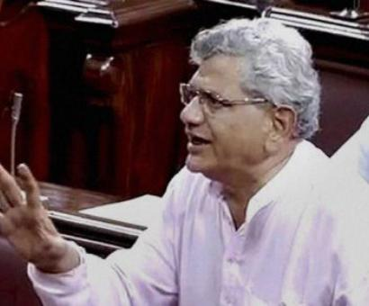 India becoming totalitarian state controlled by a master: Yechury on Aadhar