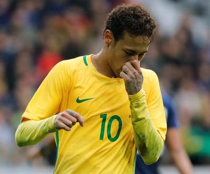 What moved Neymar to tears after Brazil win
