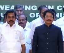 Sasikala loyalist Palaniswami becomes Tamil Nadu CM