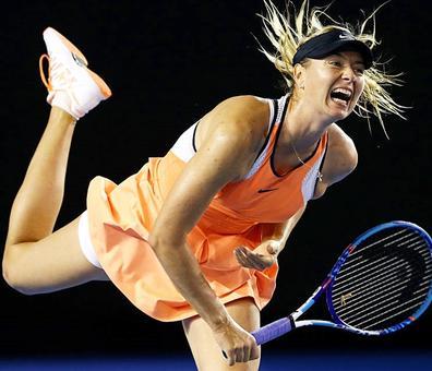 Sharapova won it all in the Serena era