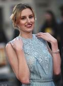 Laura Carmichael is divine at BFI London Film Festival gala opening